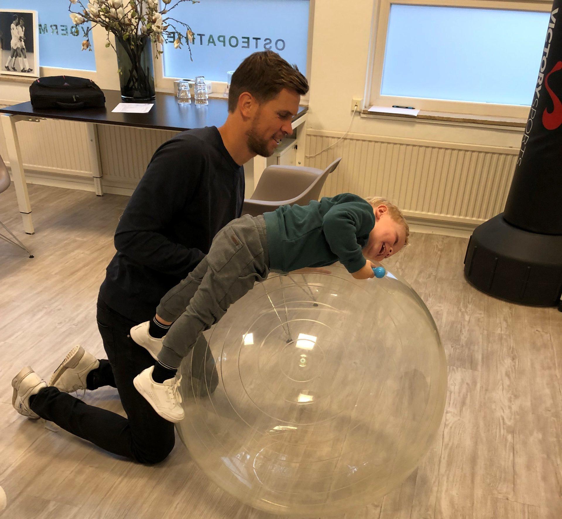 Kinderhaptotherapie Jesper & Ole